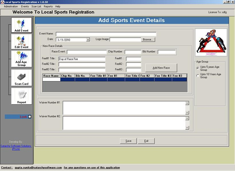 Marathon Participant Registration system(SatarchySports)